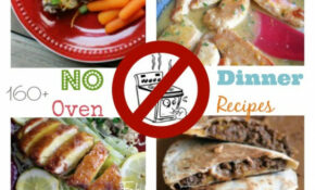 160 No Oven Dinner Recipe Ideas – Oven Recipes Dinner