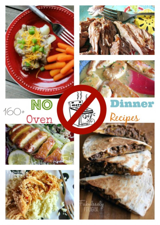 160 No-Oven Dinner Recipe Ideas - oven recipes dinner