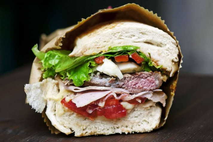 17 Best images about Uruguay chivito sandwiches on ..