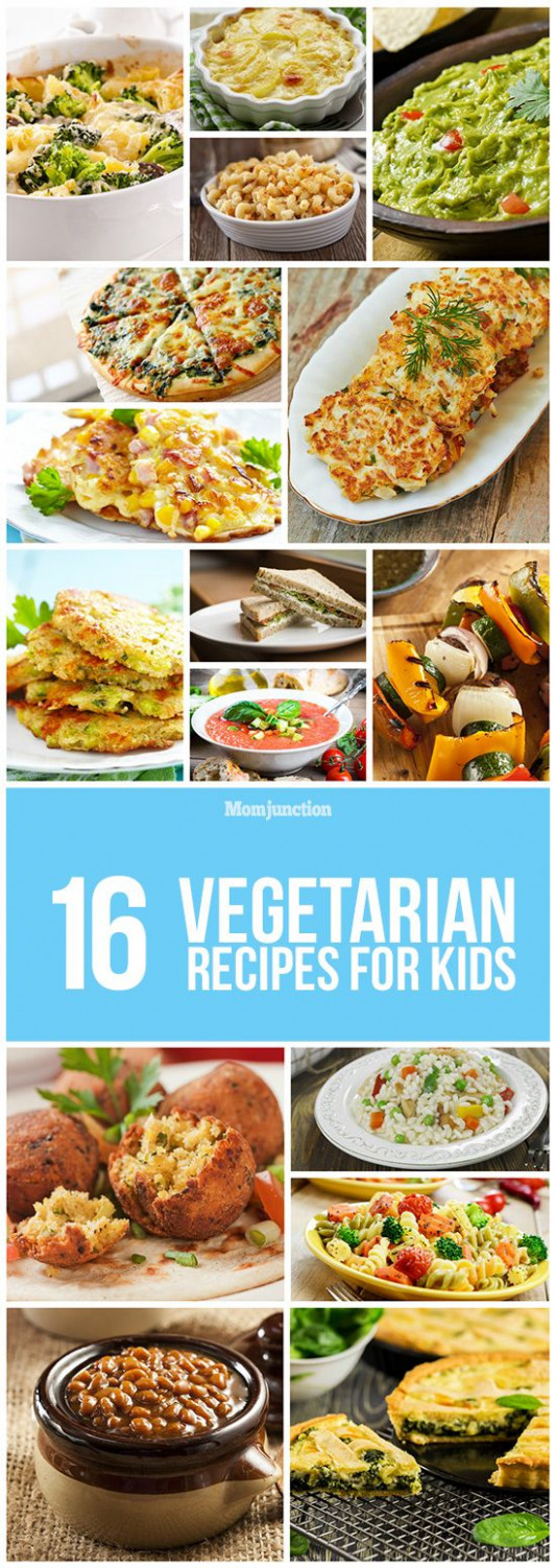 17 Delicious Vegetarian Recipes For Kids | FoOd * FaMiLy ..