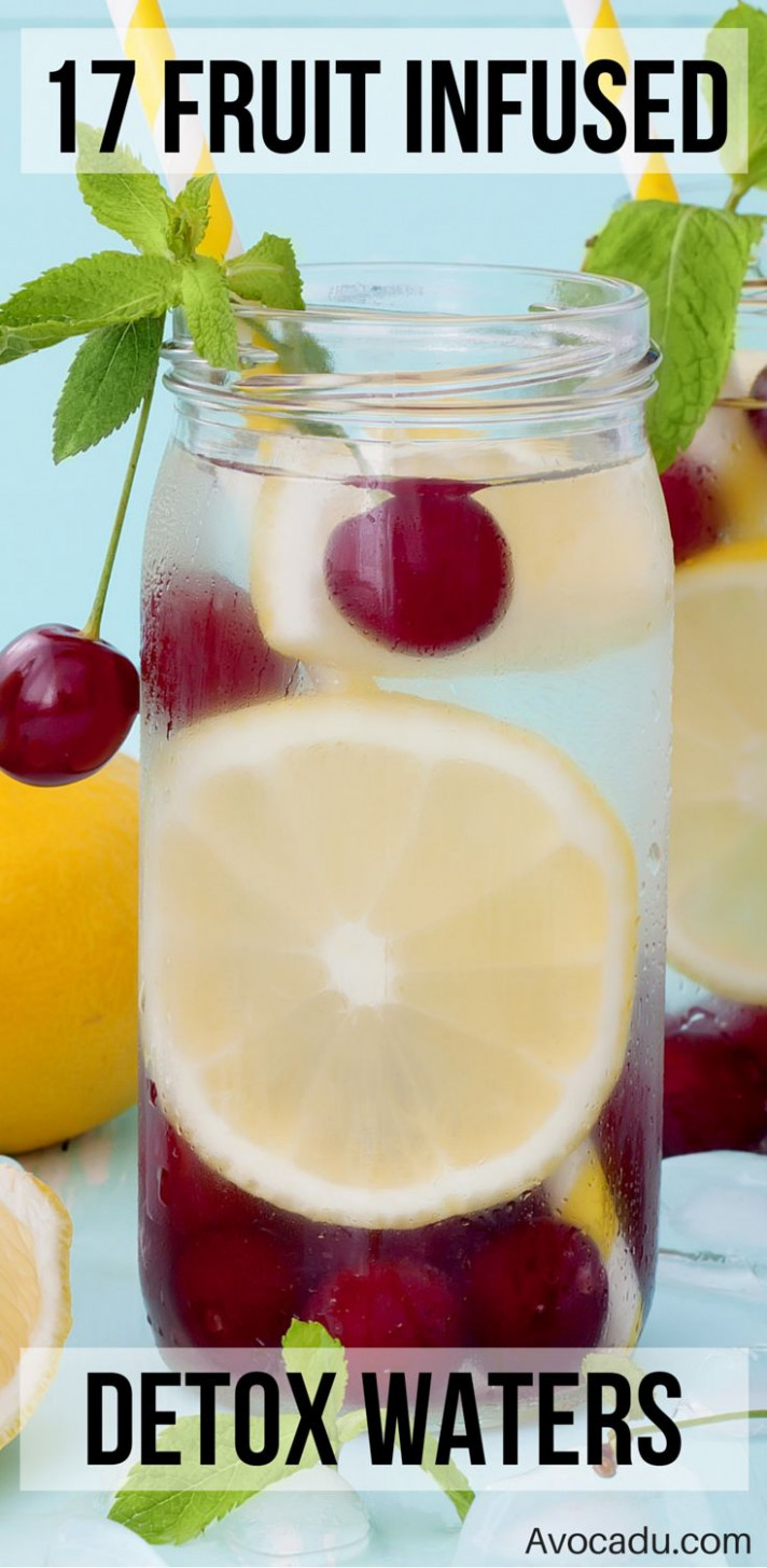 17 Detox Water Recipes for Weight Loss - food recipes for weight loss