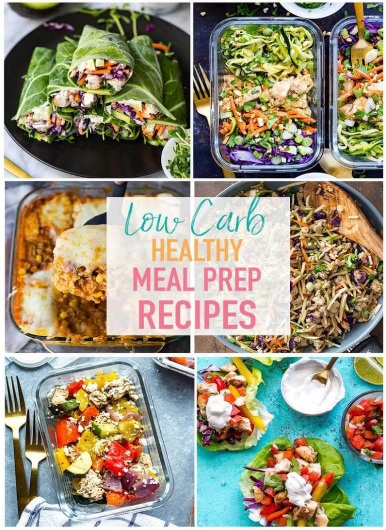 17 Easy Low Carb Recipes for Meal Prep - The Girl on Bloor - food recipes no carbs