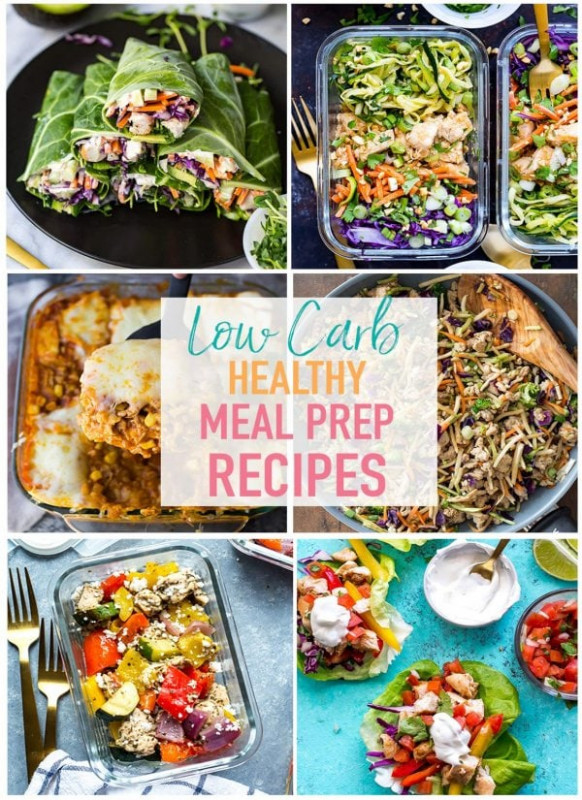 17 Easy Low Carb Recipes for Meal Prep - The Girl on Bloor - recipes low carb healthy fat