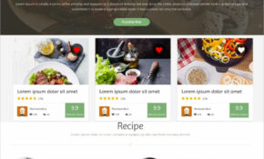 17+ Food Recipes Website Themes & Templates | Free ..