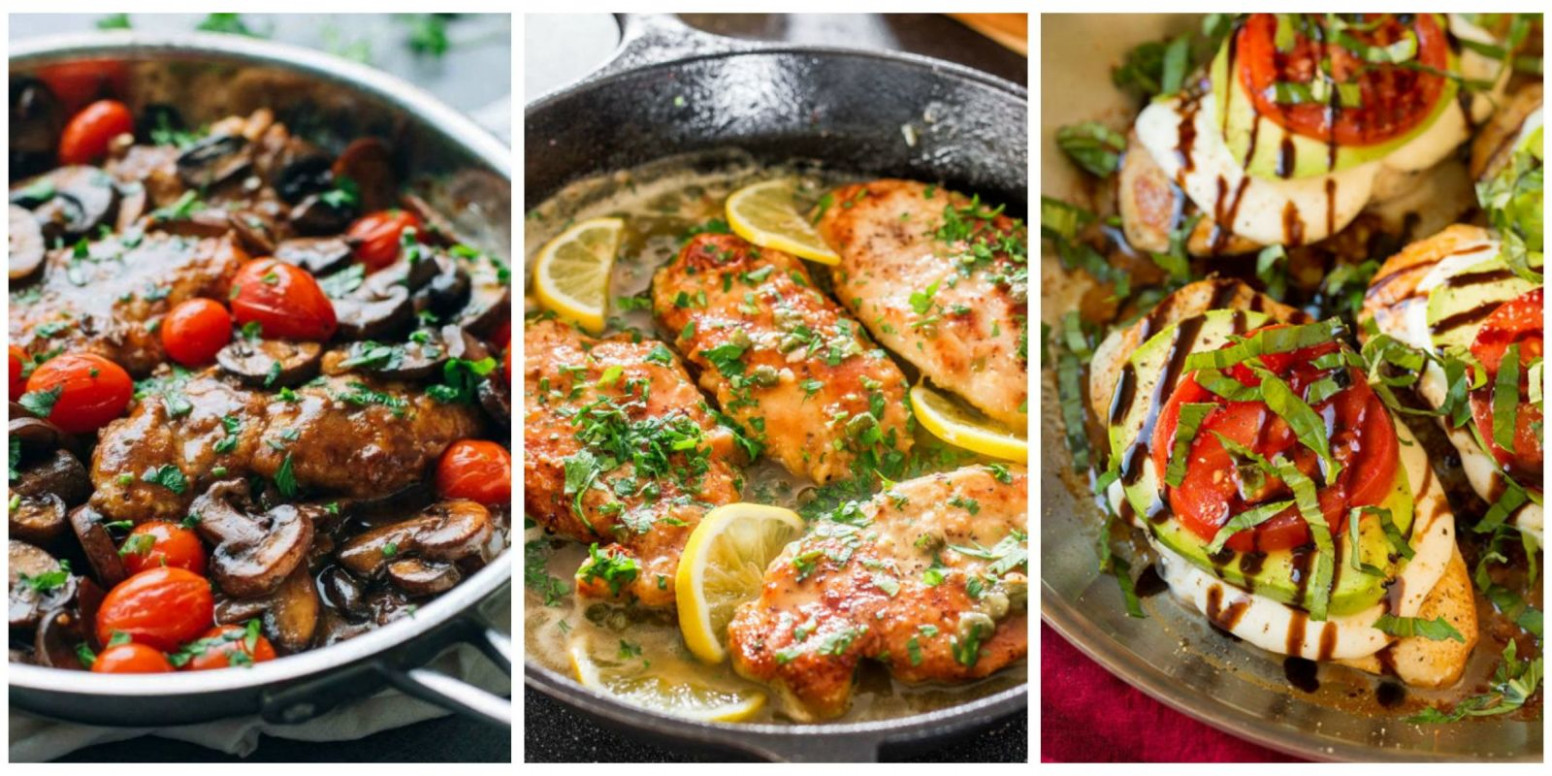 17 Italian Chicken Recipes - Quick And Easy Chicken Dishes - Italian Recipes Dinner