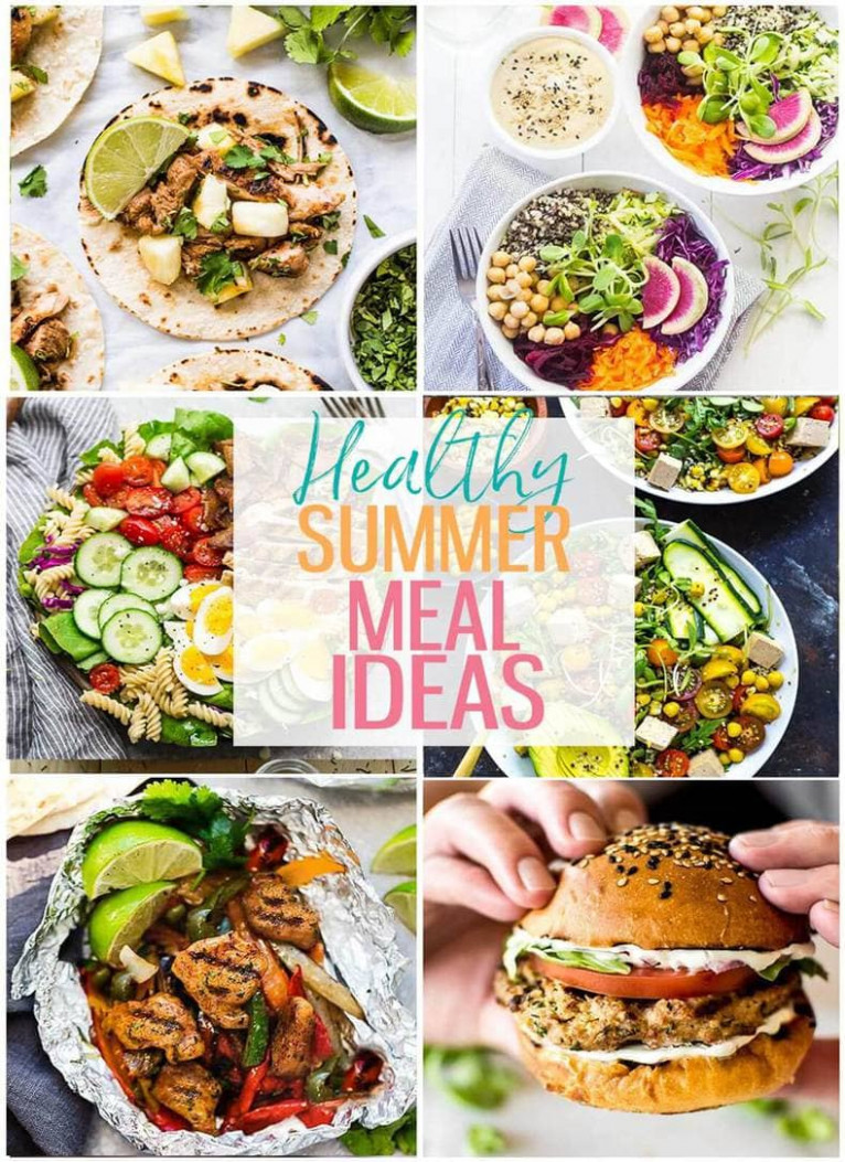 18 Delicious Healthy Summer Recipes - The Girl on Bloor - summer recipes dinner