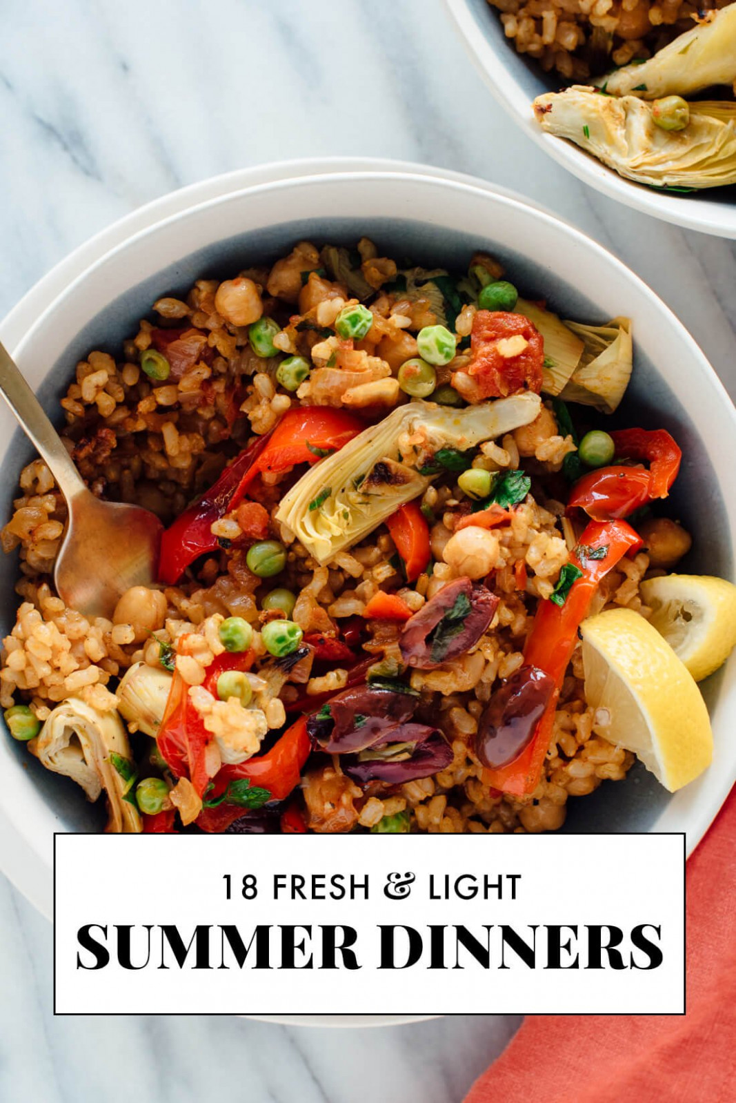 18 Light Summer Dinner Recipes - Cookie And Kate - Recipes Dinner Meals