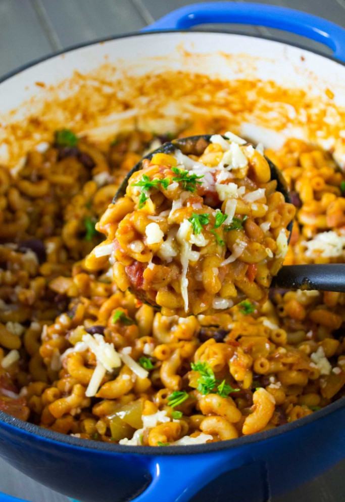 18 Vegetarian One Pot Pasta Recipes For Busy Weeknights - Recipe Vegetarian One Pot