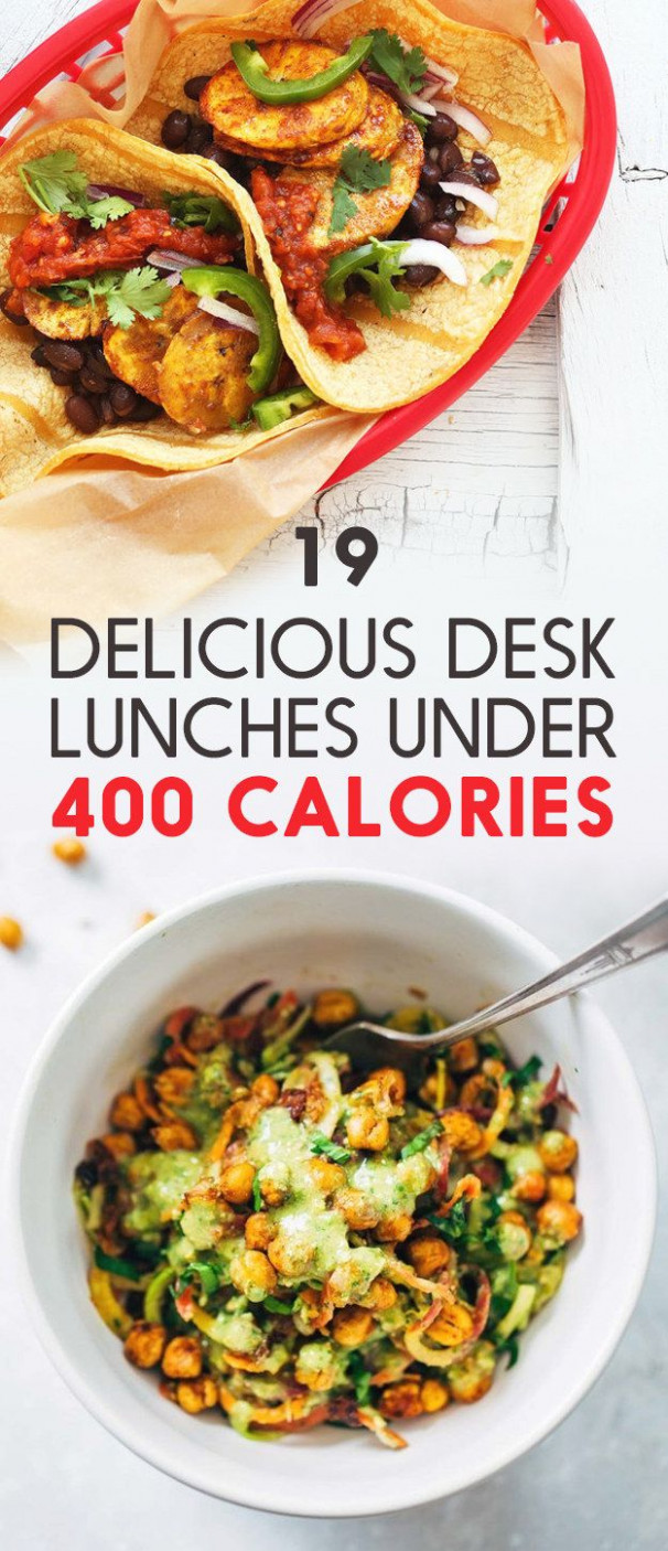 19 Easy To Pack Lunches Under 400 Calories | Delicioso ..