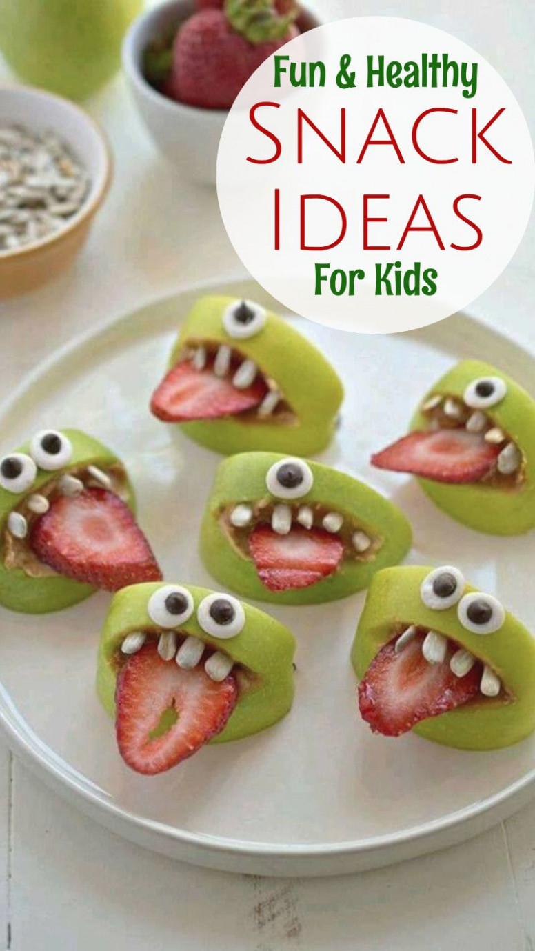 19+ Healthy Snack Ideas Kids WILL Eat - Healthy Snacks for ..
