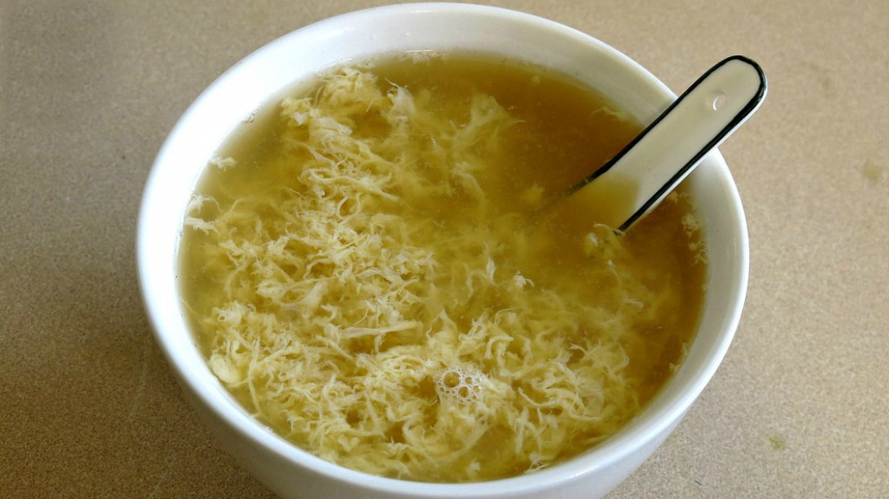 2 Ingredient Egg Drop Soup For College Students - recipes for healthy soup