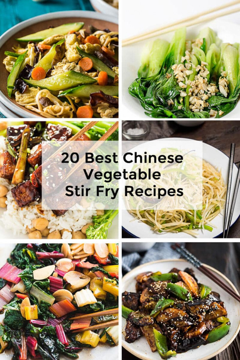 20 Best Chinese Vegetable Stir Fry Recipes   Omnivore's ..