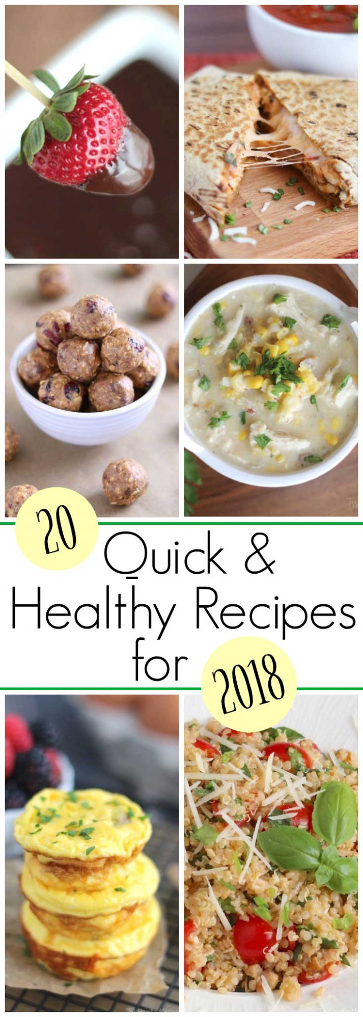 20 Best Quick and Healthy Recipes for 2018 - Two Healthy ..