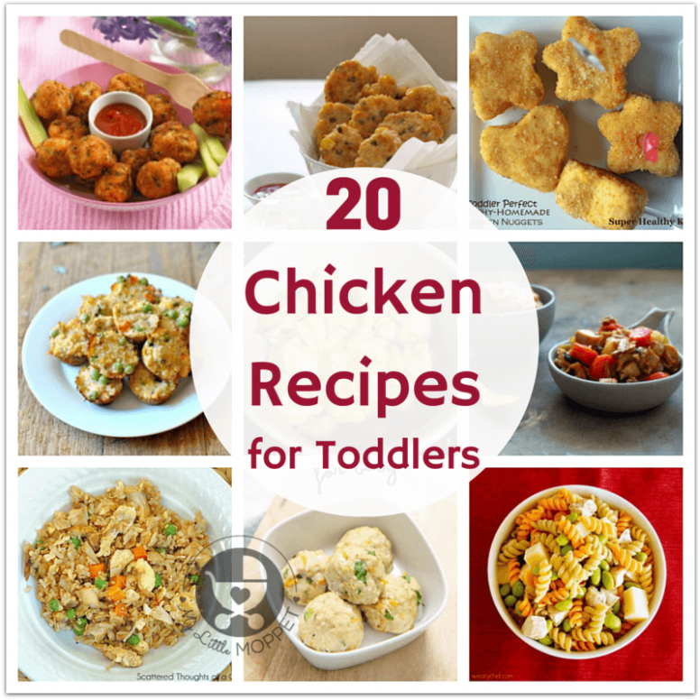20 Chicken Recipes for Toddlers - My Little Moppet - chicken recipes for toddlers