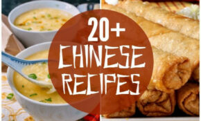 20+ Chinese Food Recipes | Chinese Recipes | Homemade ..