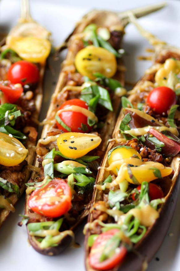 20 Creative Vegetarian Eggplant Recipes - recipe vegetarian eggplant