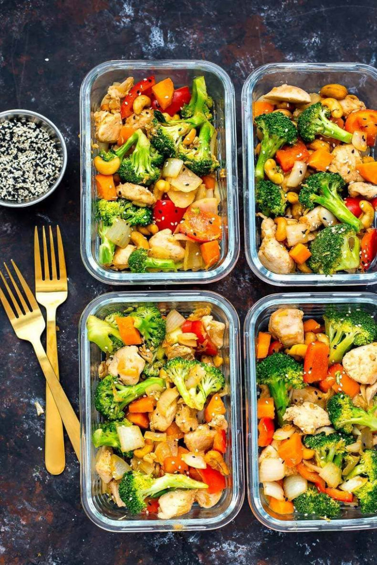 20 Easy Healthy Meal Prep Lunch Ideas for Work - The Girl ..