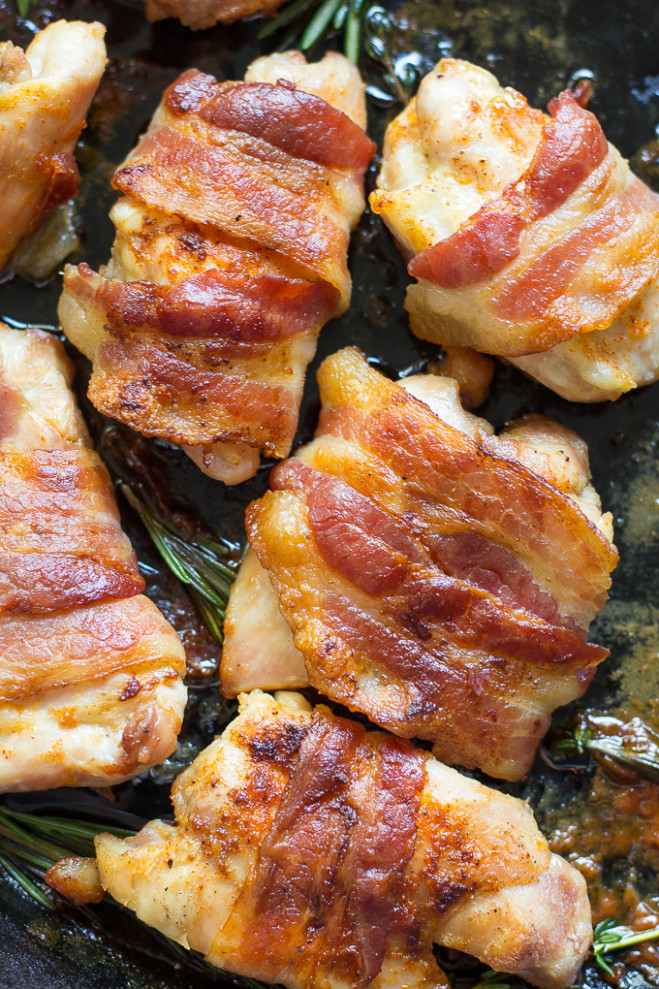 20 Easy Paleo Dinners for Weeknights | The Paleo Running Momma - recipes with bacon for dinner