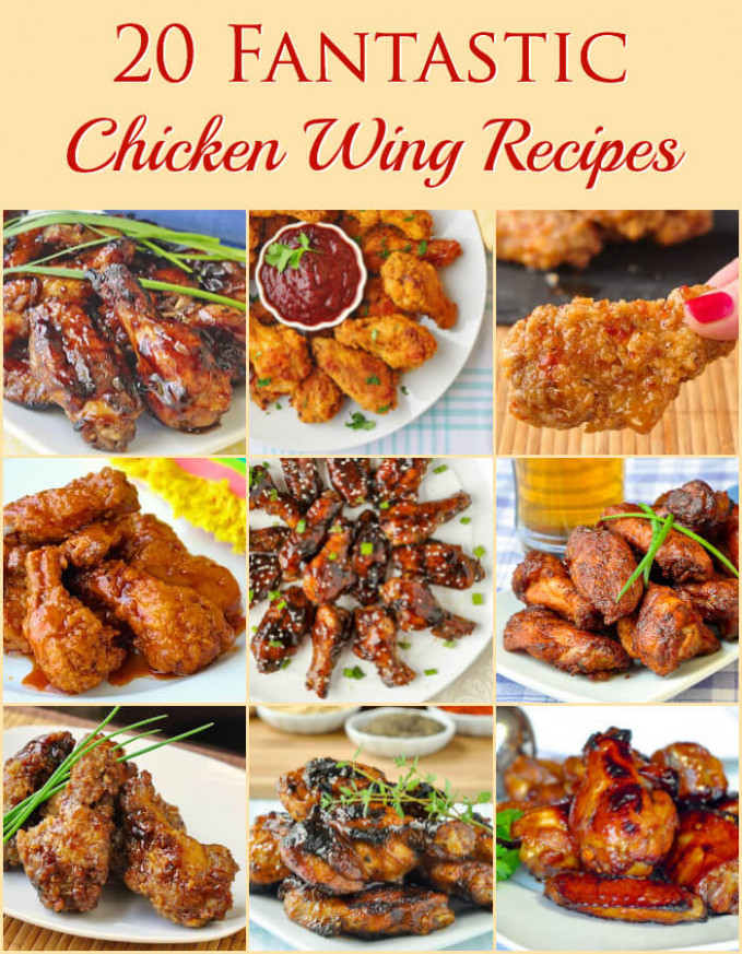 20 Fantastic Chicken Wing Recipes - baked, grilled or fried! - recipes grilled chicken wings