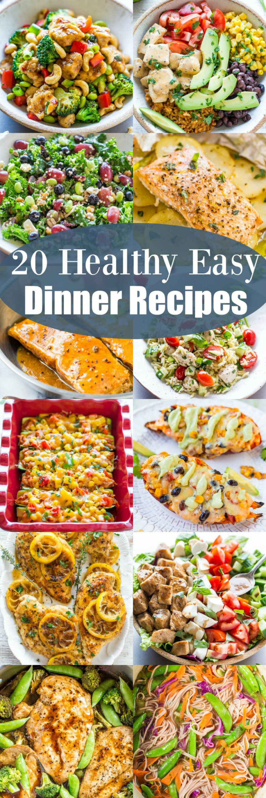 20 Healthy Easy Dinner Recipes - Looking for healthy, easy ..