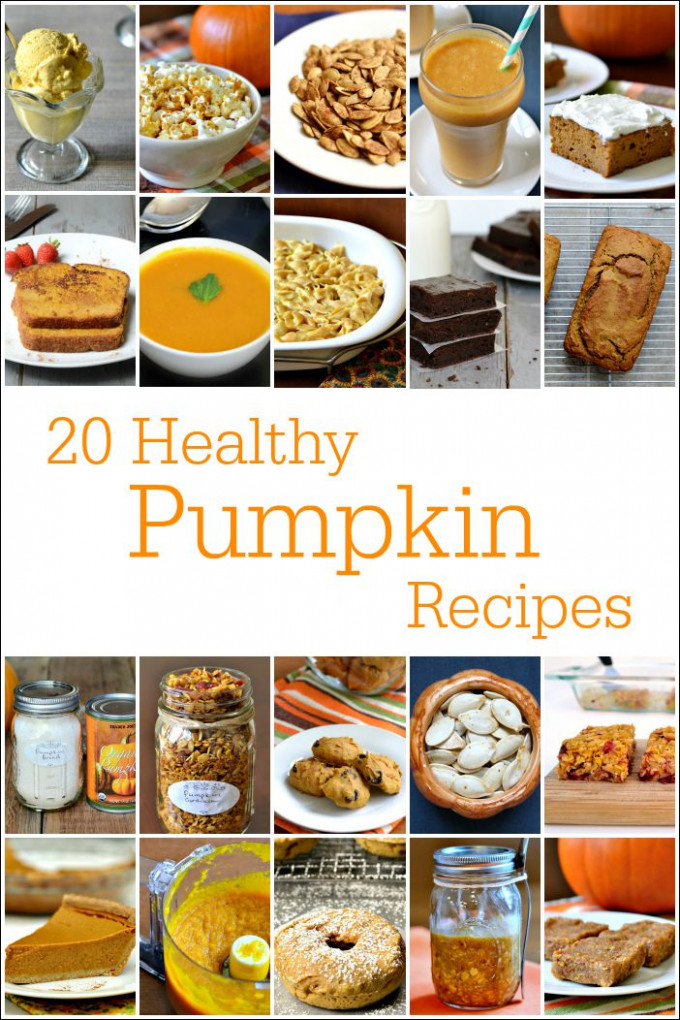 20 Healthy Pumpkin Recipes - Desserts, Snacks, & Mains - recipes canned pumpkin healthy