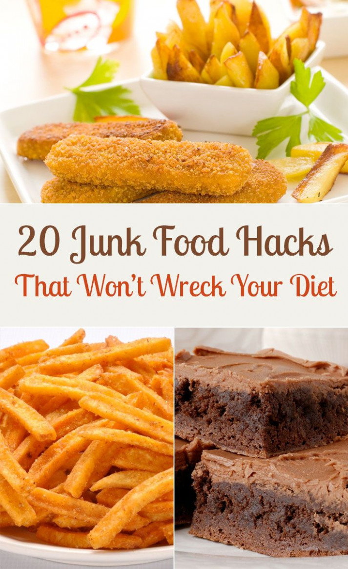 20 Junk Food Hacks That Won't Wreck Your Diet | Eating is ..