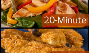 20 Minute Chicken Dinner Recipes | Quick, Healthy Recipes ..