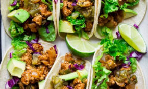 20 Minute Ground Chicken Tacos With Poblanos – Healthy ..