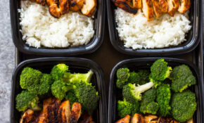 20 Minute Meal Prep Chicken, Rice And Broccoli | Gimme ..