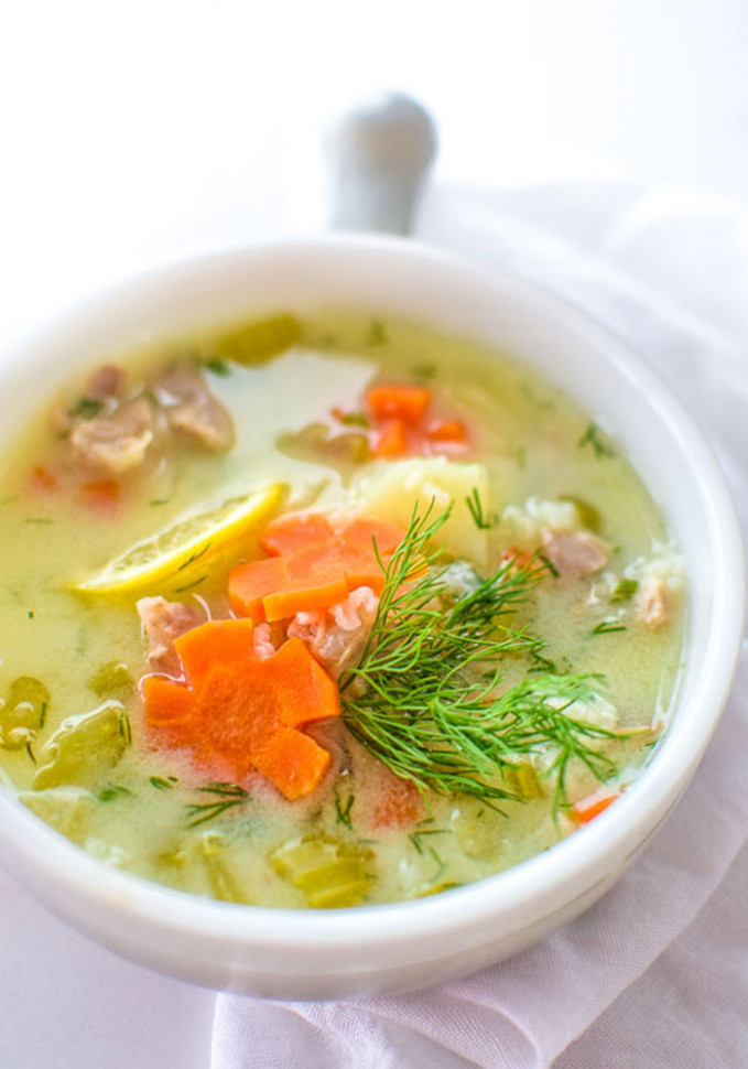 20 Quick Vegetarian and Non-vegetarian Soup Recipes - greek soup recipes vegetarian