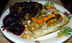 2011 11 24 – Thanksliving Pizza – 0044 – Recipe Vegetarian Gravy For Mashed Potatoes
