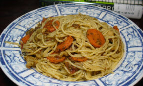 2012 02 23 – Pasta With Basil Pesto – 0004 – Creamy Pasta Recipes Vegetarian