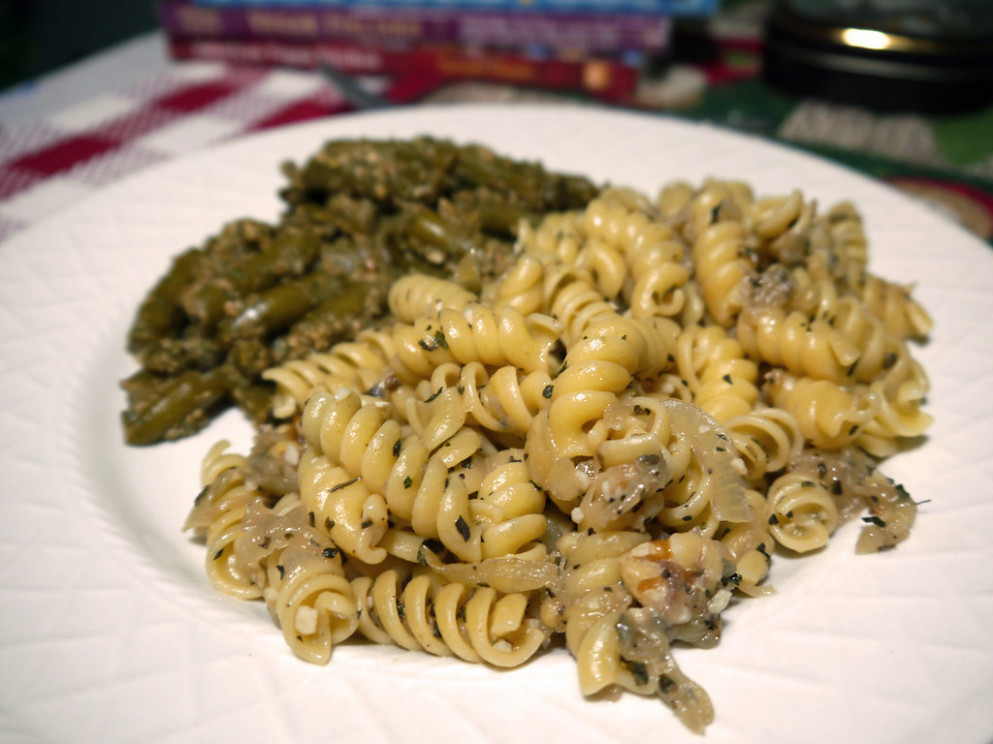 2013-02-01 - VI Walnutty Beans & Fusilli - 0006 - fusilli pasta recipes vegetarian