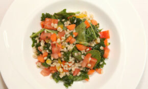 2013 Kids's State Dinner Winning Recipe: Veggie Barley Salad With Orange Honey Vinaigrette – Veggie Recipes Dinner
