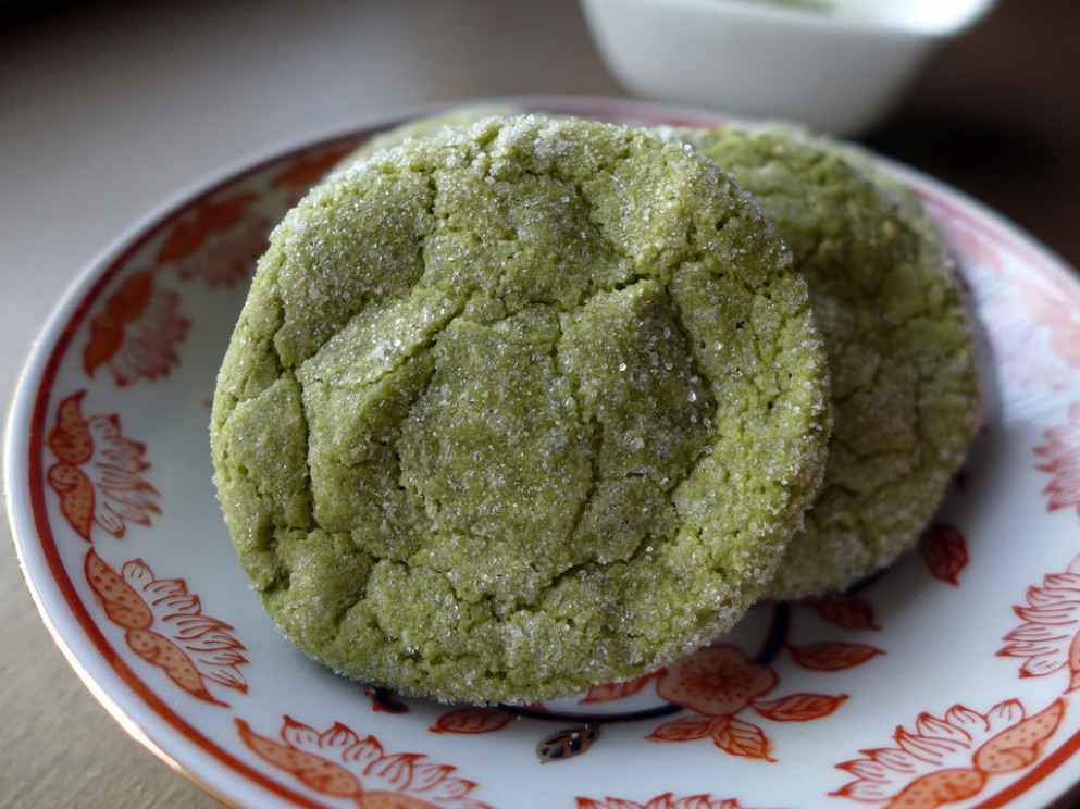 2015-01-28 - Matcha Cookies - 0002 [flickr] - new idea food recipes