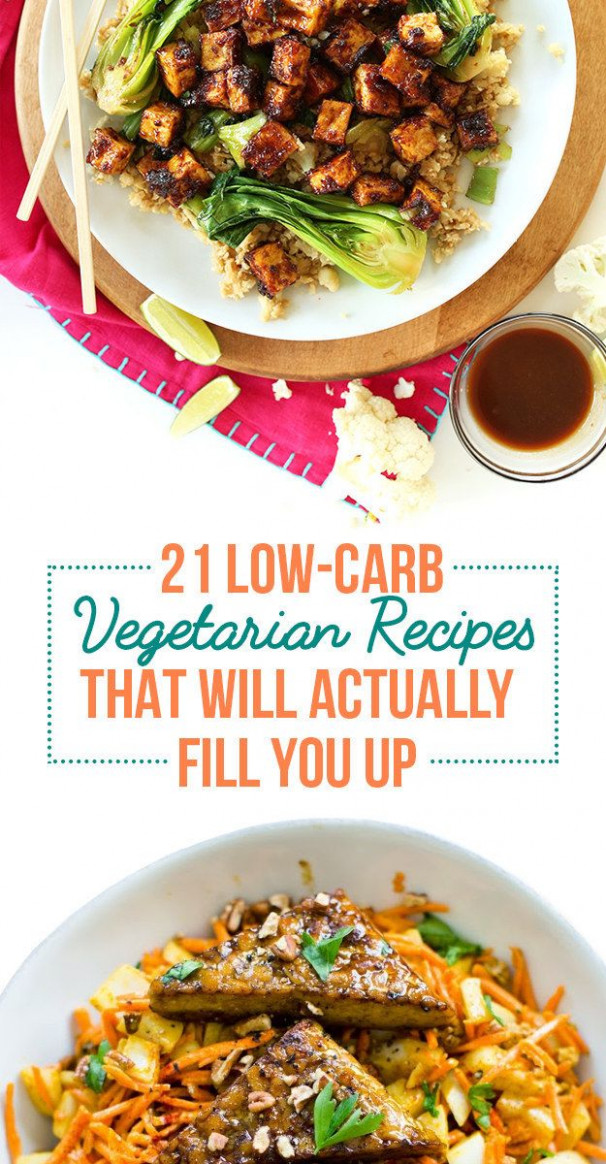 21 Filling Low-Carb Recipes With No Meat | Vegetarian ..