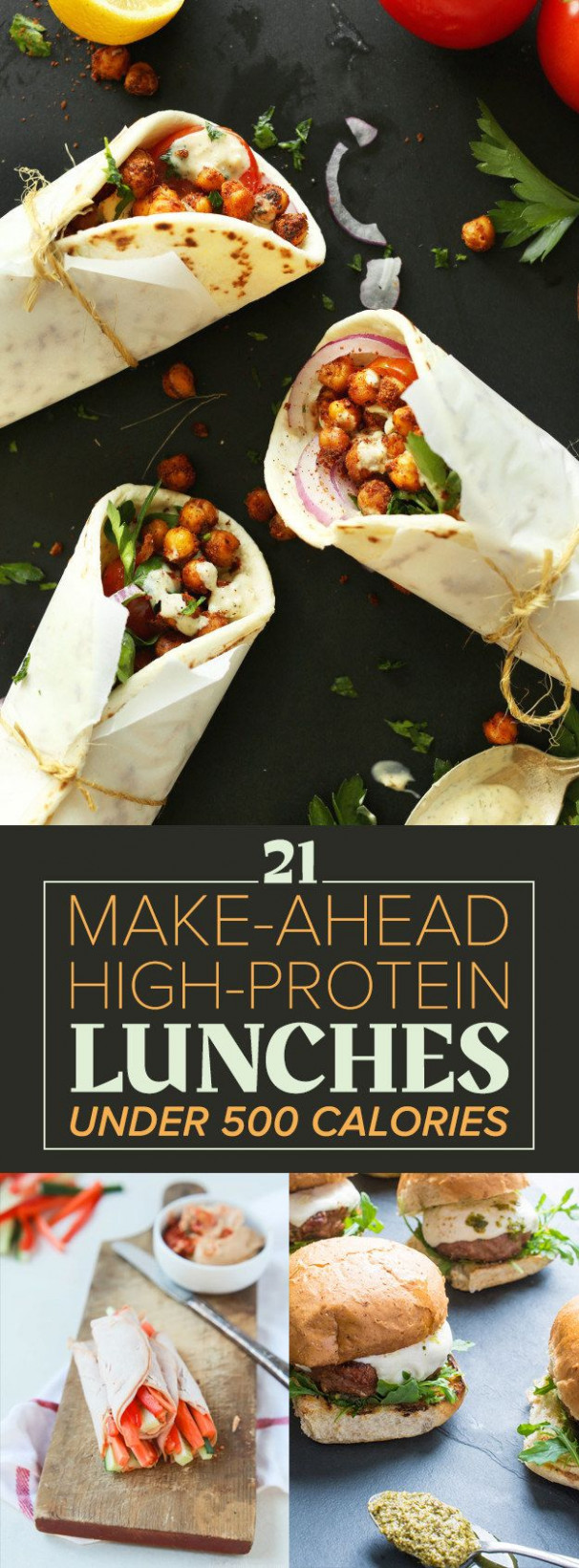 21 High-Protein Lunches Under 500 Calories | Eating Well ...