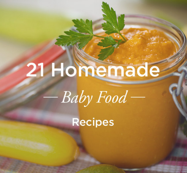 21 Homemade Baby Food Recipes - recipes for baby food