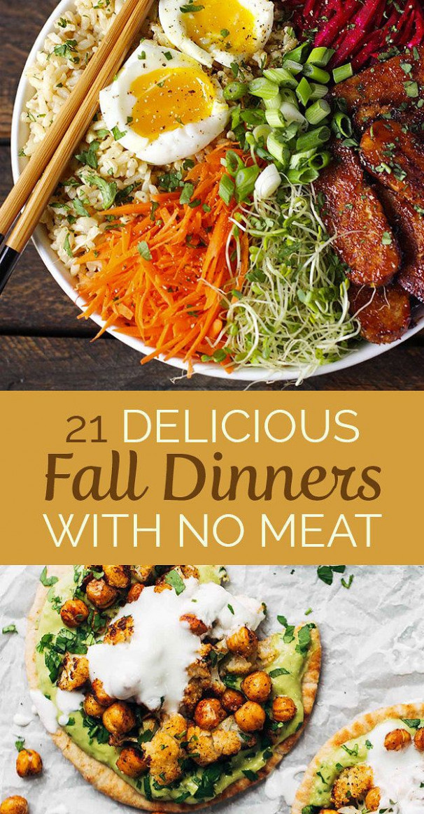 21 Meatless Dinners That Are Perfect For Fall | My ..