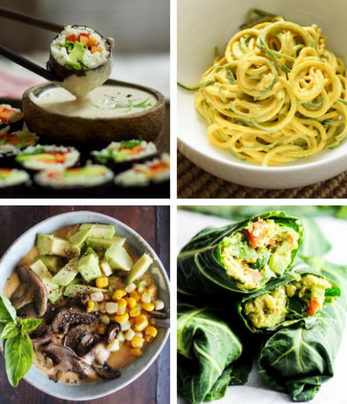 21 Satisfying Raw Vegan Recipes for Dinner | The Green Loot - raw food recipes dinner