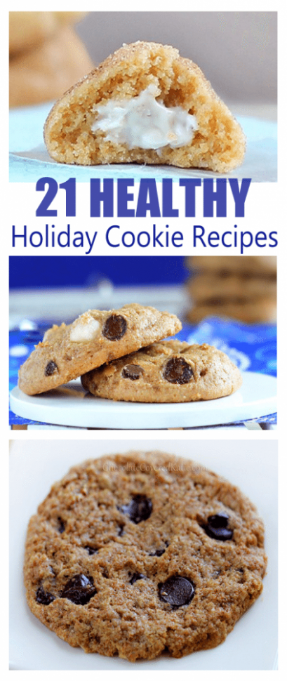 21 Secretly Healthy Cookie Recipes - healthy xmas baking recipes