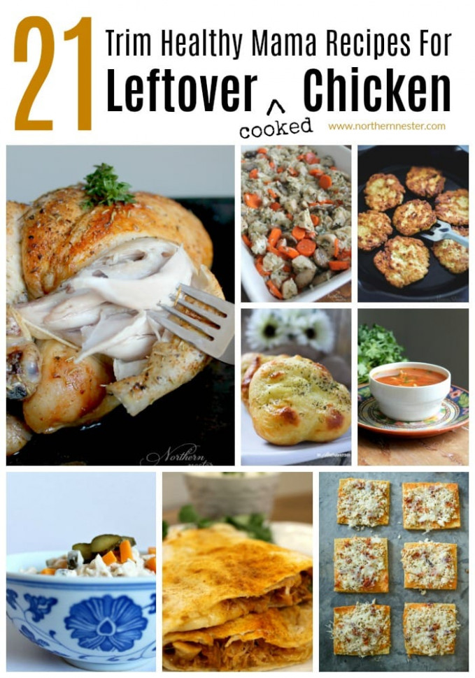 21 Trim Healthy Mama Recipes For Leftover Chicken ..