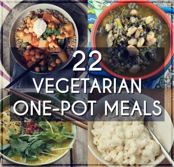 22 Easy One Pot Meals With No Meat - One Pot Rice Recipes Vegetarian Indian