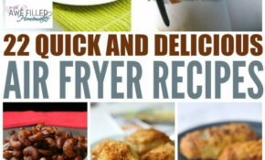 22 Quick & Delicious Air Fryer Recipes! | Best Of Awe ..