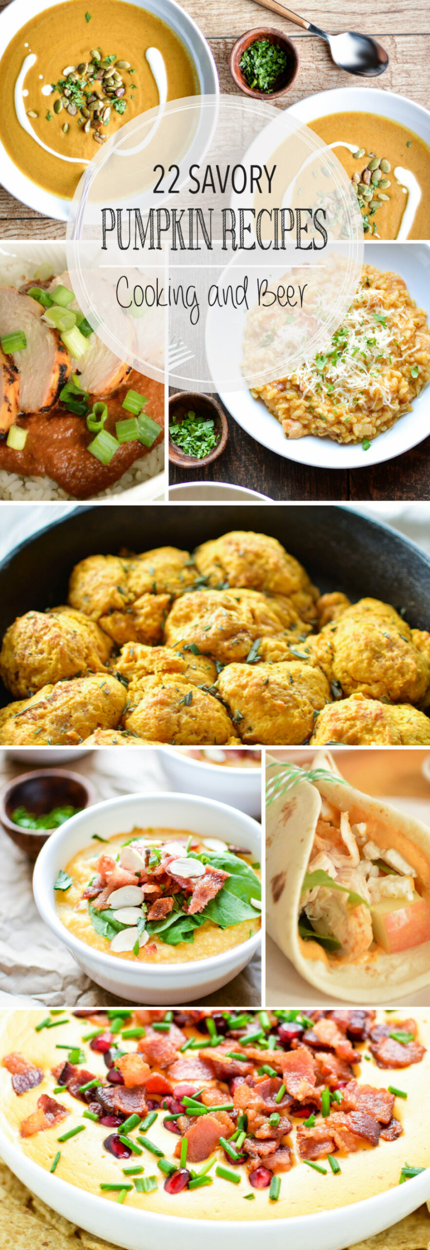 22 Savory Pumpkin Recipes - Cooking and Beer - fall recipes dinner