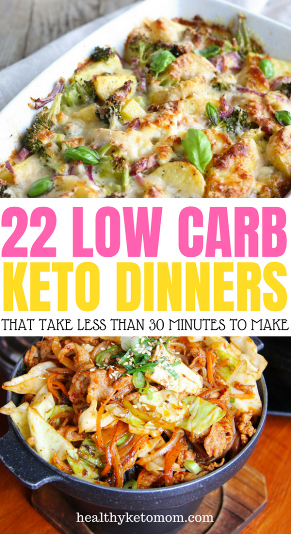 22 Stupid-Simple Quick Keto Dinners That Are Ready In 30 ..