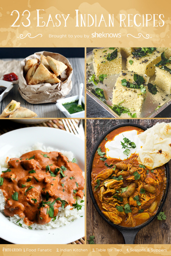 23 Easy Indian Food Recipes That Will Make You A Fan - Food Recipes Indian