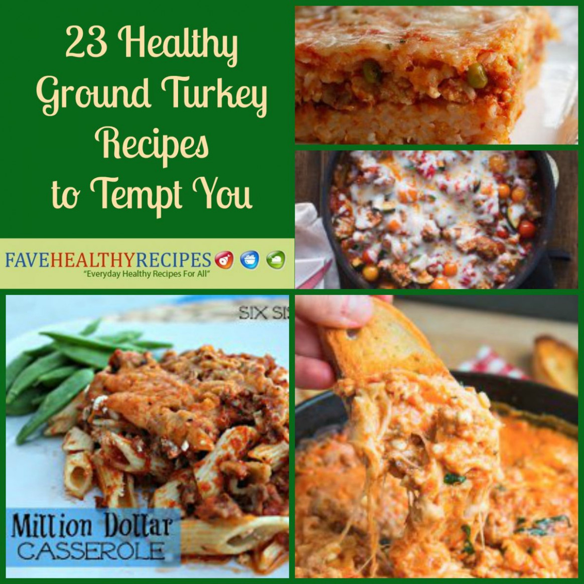 23 Healthy Ground Turkey Recipes to Tempt You ..