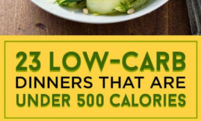 23 Low Carb Dinners Under 500 Calories That Actually Look ..