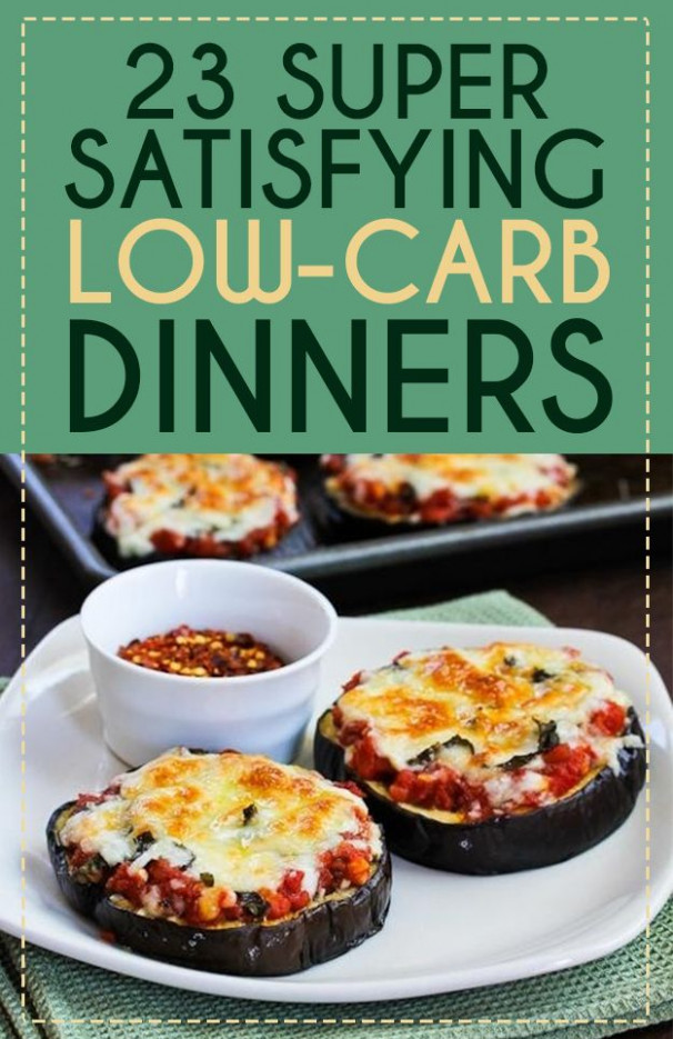 23 Super Satisfying Low-Carb Dinners by Buzzfeed. Low carb ..